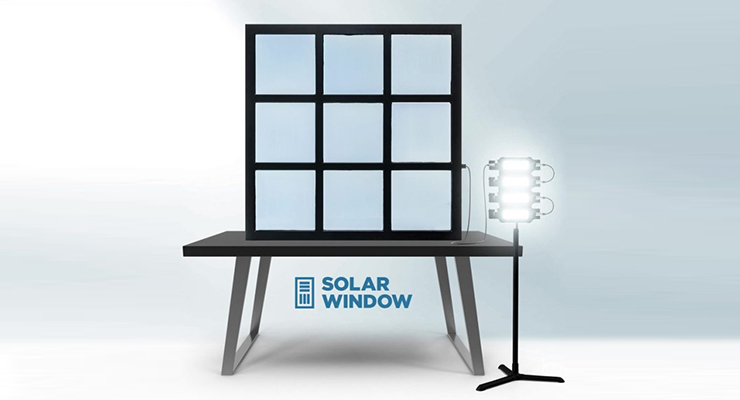 Watch Video of Largest Ever SolarWindow Generating Electricity