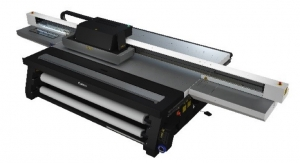 Canon Unveils Arizona 2300 Series UV Curable Flatbed Printer