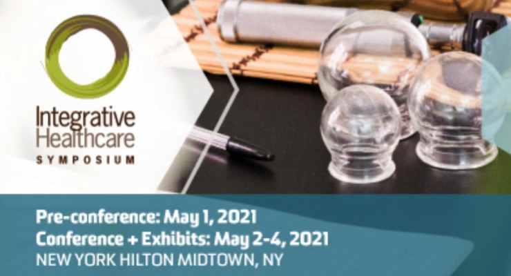 Integrative Healthcare Symposium Reschedules Conference for May 2-4, 2021