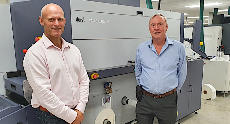 Durst helps Colorscan Imaging Products expand label offerings
