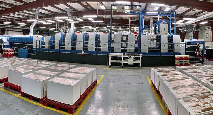 TPC Printing & Packaging Adds Koenig & Bauer Rapida 105 PRO Ten-Color Perfector Press