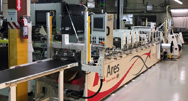 Associated Labels and Packaging installs pouch machine