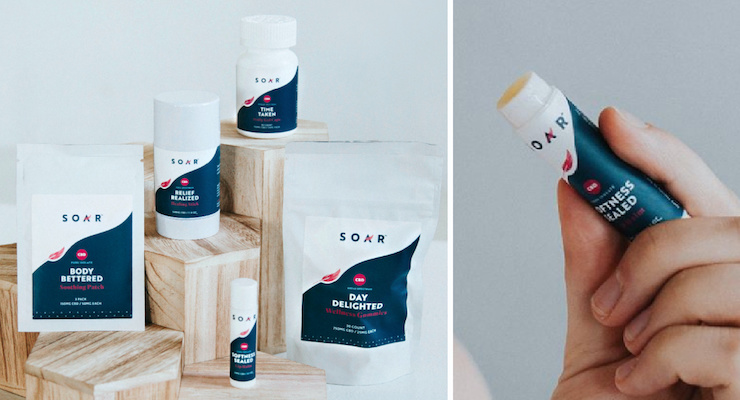 Soar CBD Debuts with a Healing Stick, Lip Balm & More
