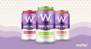 Weller Launches Sparkling Immunity, its First Non-CBD Product