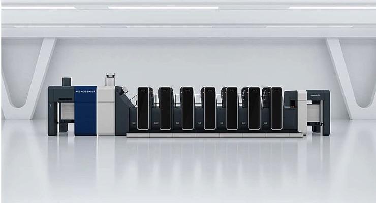Koenig & Bauer Presents Rapida 76 in B2 Format