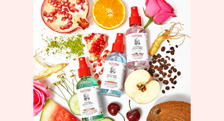 Thayers Launches Facial Mists