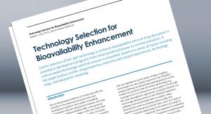 Technology Selection for Bioavailability Enhancement