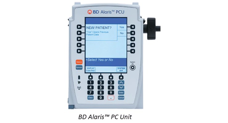 BD Recalls Alaris Infusion Pumps Over Stuck, Unresponsive Keys