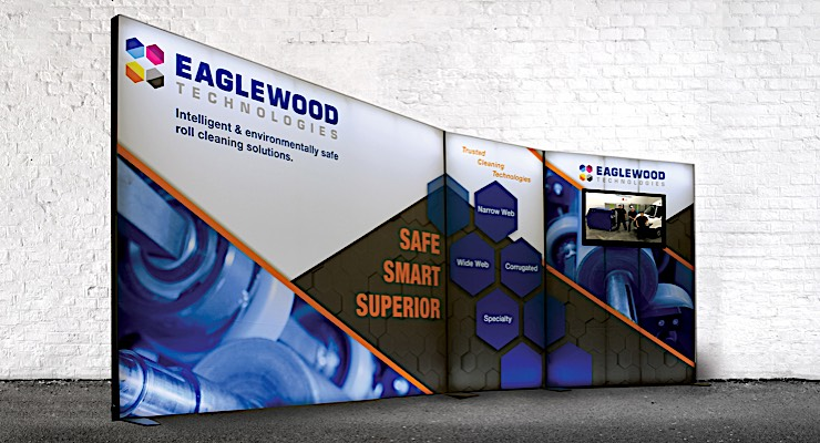 Eaglewood Technologies unveils trade show booth