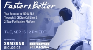 Faster & Better, Your Success to IND & BLA Through S-CHOice Cell Line & 2-Step Purification Platform