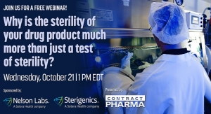 Why is the sterility of your drug product much more than just a test of sterility?