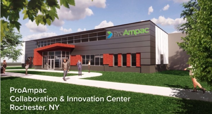 NY State Officials Salute Construction of ProAmpac's Rochester Collaboration & Innovation Center