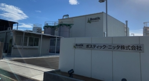Bostik Starts Up Adhesives Plant in Japan