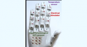 Smart E-Skin, Robotic Hand Could Gather Vital Diagnostic Data