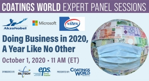 Coatings World Expert Panel Sessions: Conducting Business in 2020, a Year Like No Other