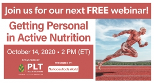 Getting Personal in Active Nutrition: New Ingredients & Science that Will Change the Game