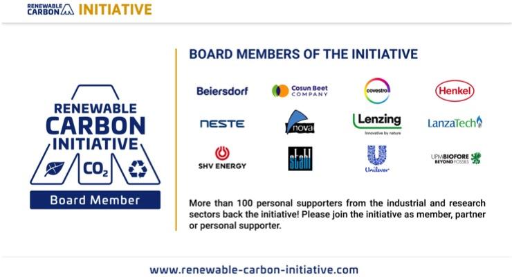 Stahl Joins Renewable Carbon Initiative