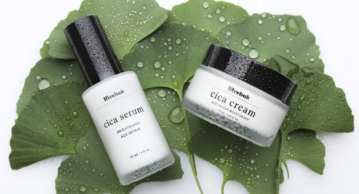 Meebak Debuts Cica Skincare Line