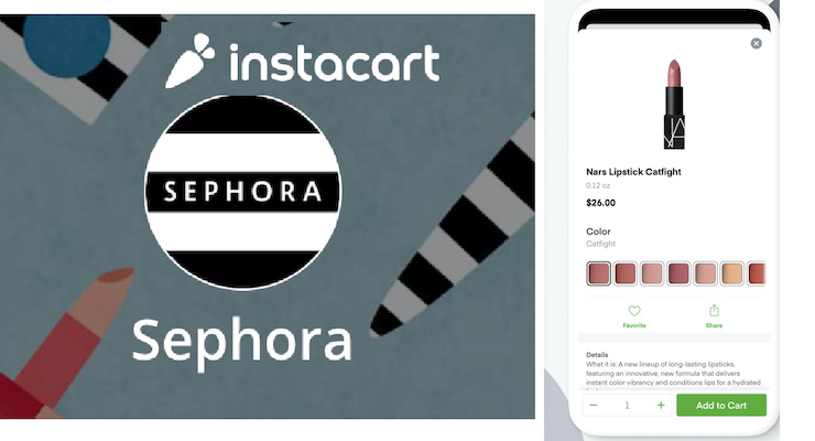 Sephora Is Now On Instacart, for Same-Day Delivery
