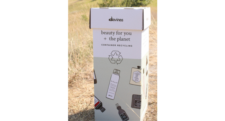 Davines Makes Recycling Easier