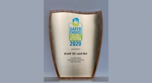 BASF Earns Safety Award