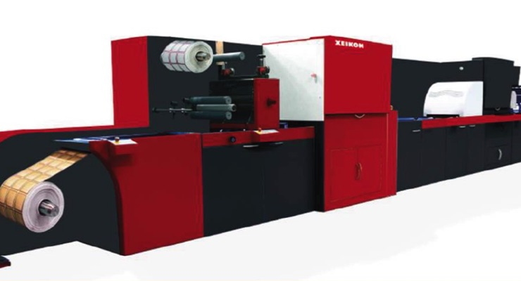 Xeikon launches Fusion Embellishment Unit