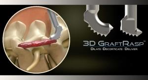 FDA OKs SurGenTec's 3D GraftRasp System