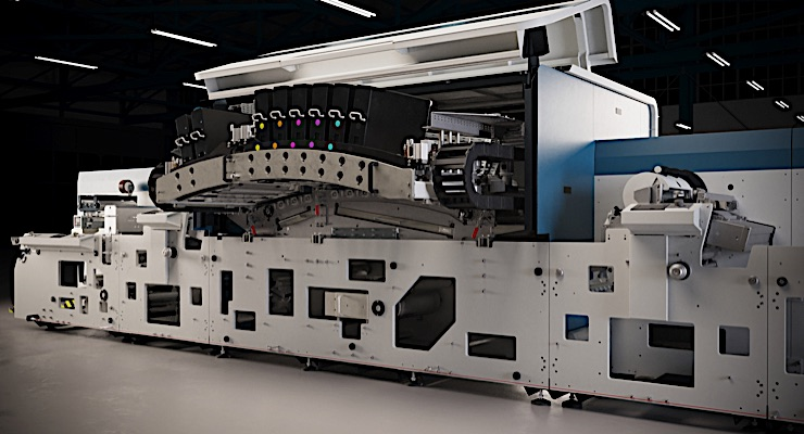 Domino unveils N730i digital UV inkjet label press