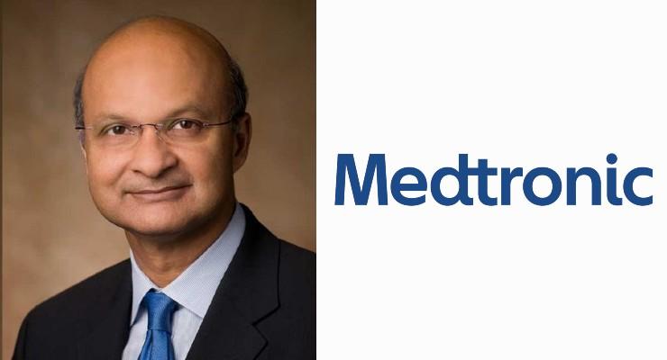 Omar Ishrak to Retire as Medtronic Chairman