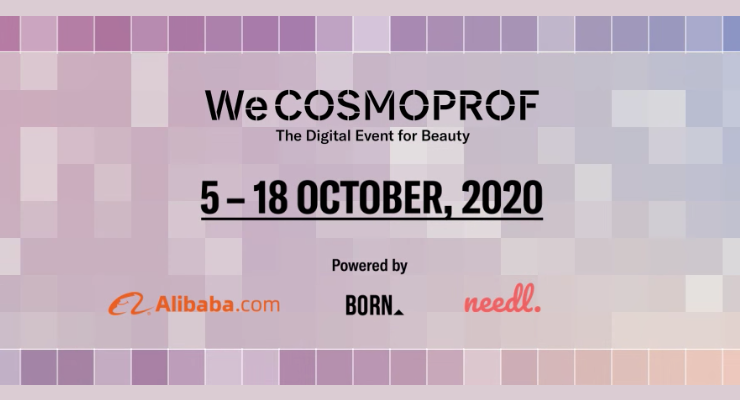 WeCosmoprof Kicks Off Online