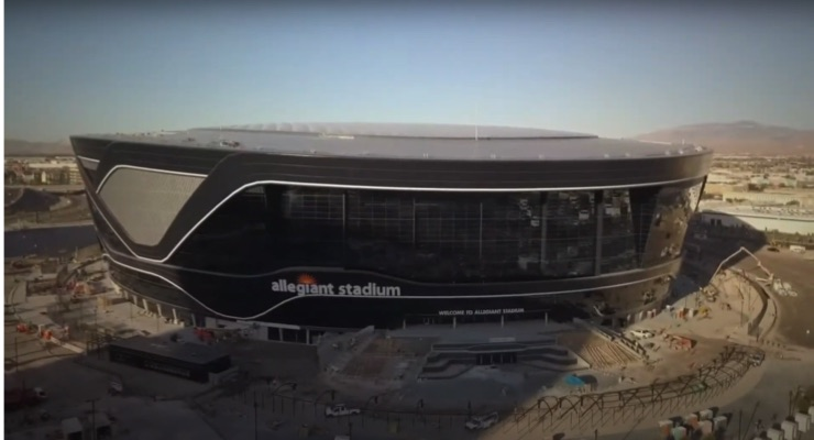 Allegiant Stadium Kicks off with PPG Coatings