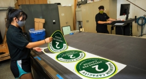 Cal Poly students promote Covid safety with print