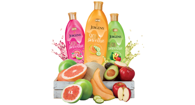 Jergens Introduces Skin Smoothies