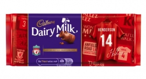 Liverpool FC Thanks Supporters with Cadbury Candy Bars Featuring HP Printed Packaging