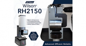 Buehler Introduces Wilson RH2150 Rockwell Hardness Tester