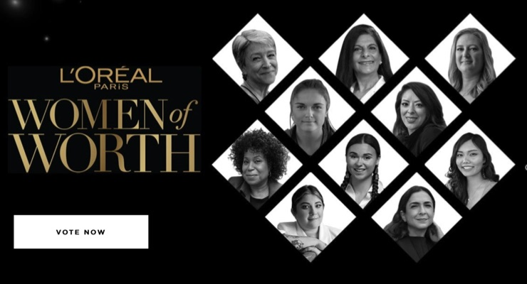 L'Oréal Paris Unveils 2020 Women of Worth Honorees