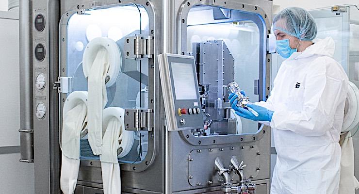 Arcinova Installs R1000 Robotic Capsule Filler