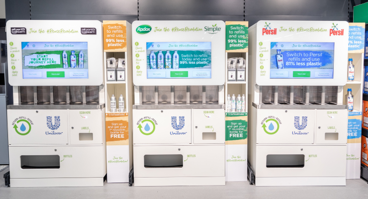 Unilever and Beauty Kitchen Launch Refill Trial in Europe