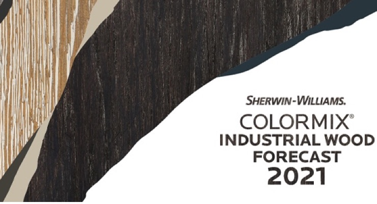Sherwin-Williams Introduces 2021 Colormix Trend Forecast for Industrial Wood Markets