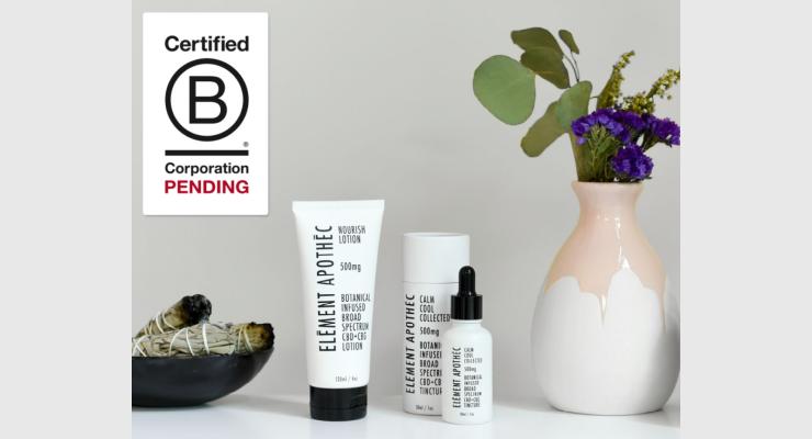 Element Apothec Receives Pending B Corp Certification