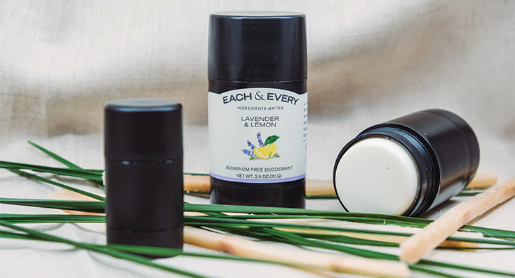 Each & Every Launches First Carbon-Negative Deodorant Packaging