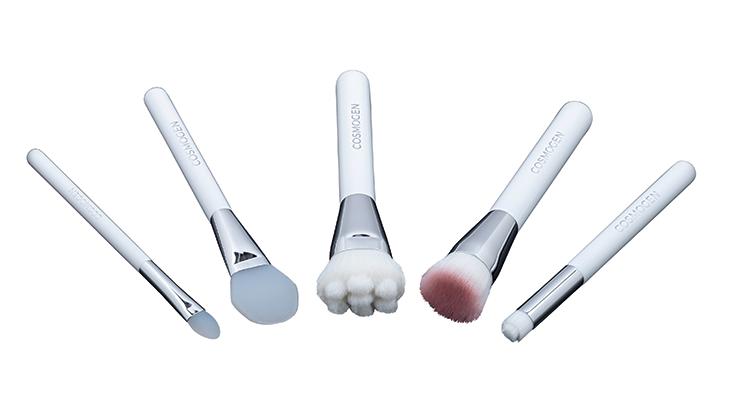 Cosmogen Offers Vegan, 'Safe Contact' 5-Brush Set
