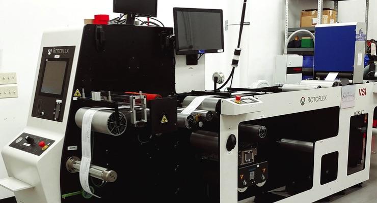 Rotoflex develops booklet label machine for JH Bertrand