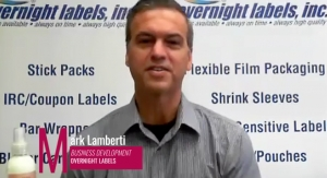 Videobite: Overnight Labels Offers Innovative New Options for Shrink Sleeves—and More