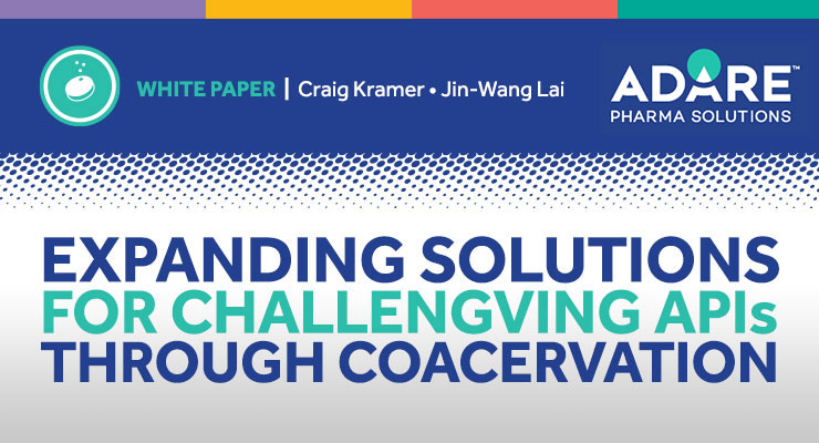 Expanding Solutions for Challenging APIs Through Coacervation