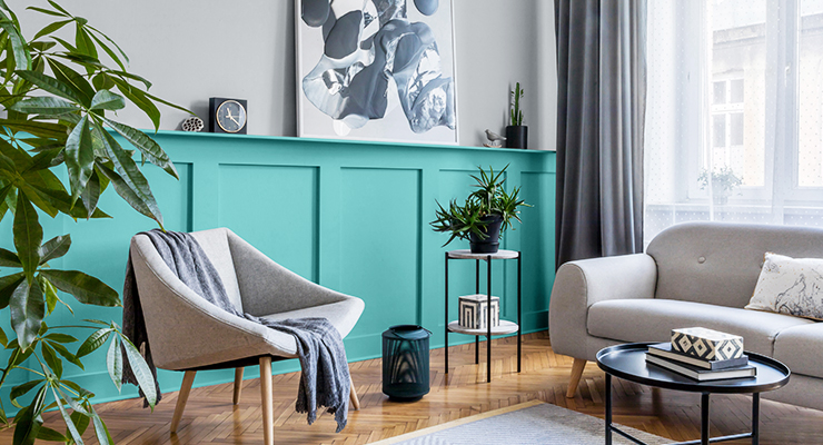 GLIDDEN Chooses 1st Ever Accent Color of the Year for 2021