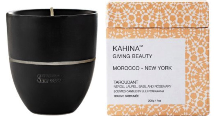 It's All About the Candle at Kahina Giving Beauty