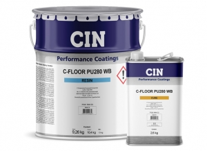 CIN Launches C-FLOOR PU280 WB  to Coat Large Areas of Concrete