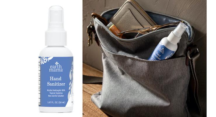 Earth Mama Organics Launches Lavender Hand Sanitizer