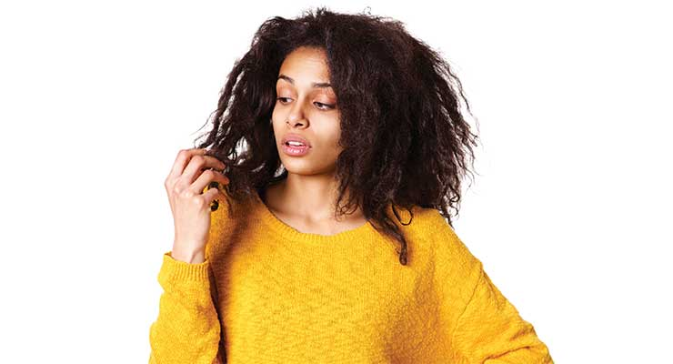 Several Factors Contribute to Dry Hair Issues